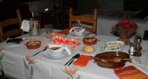 Cena Romántica en la Casa Rural las Albertas